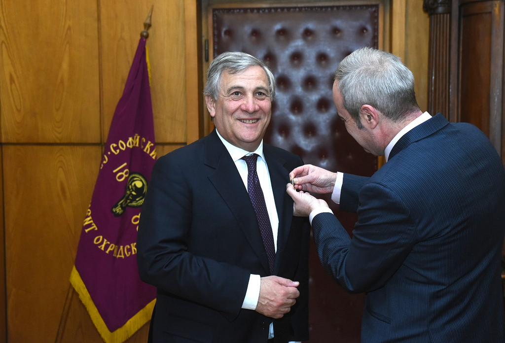 Antonio Tajani is an Italian politician who has served as President of the European Parliament since January 2017. Image : Flickr