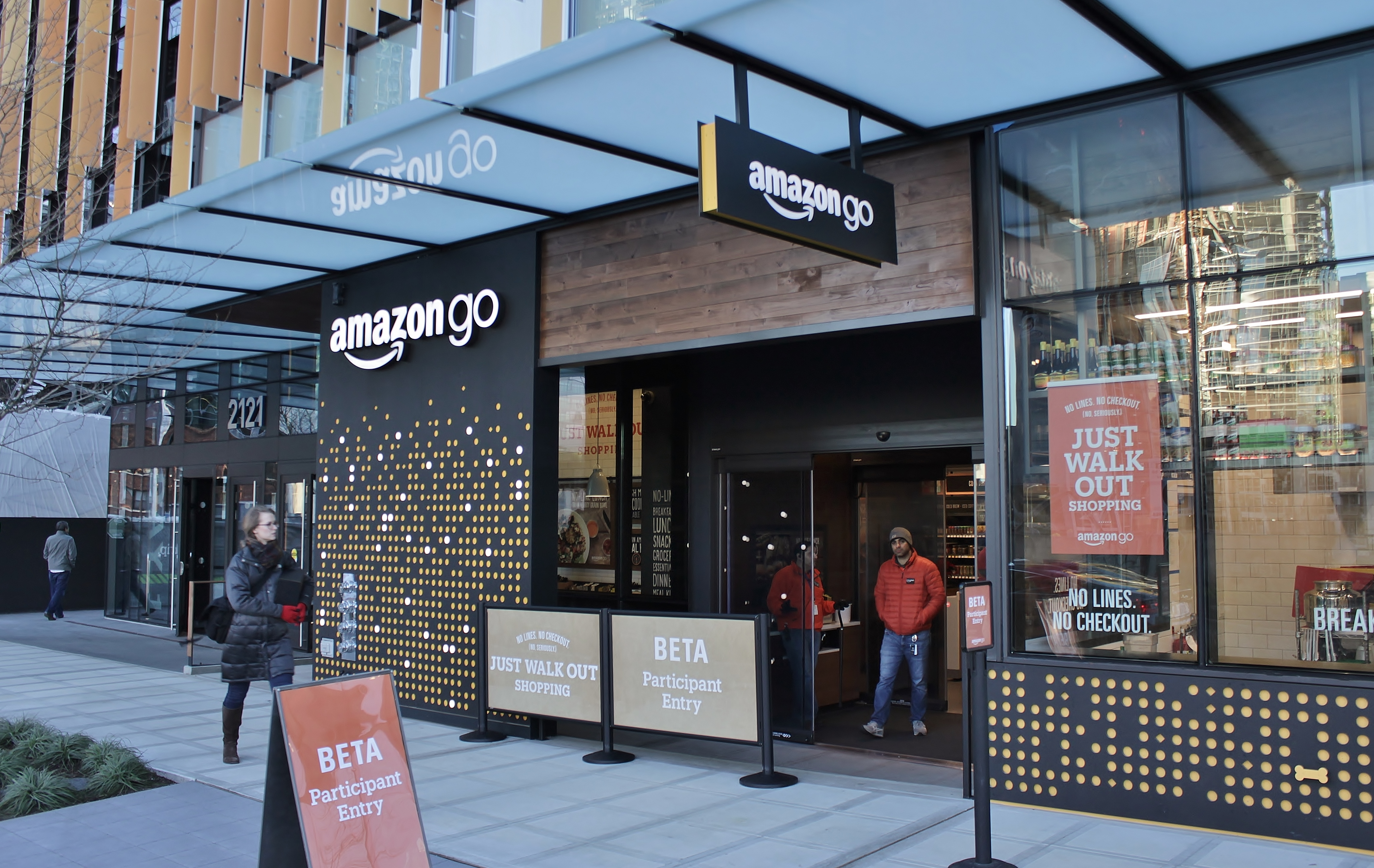 Amazon has unveiled a new Amazon Go store. Image: Wikimedia Commons