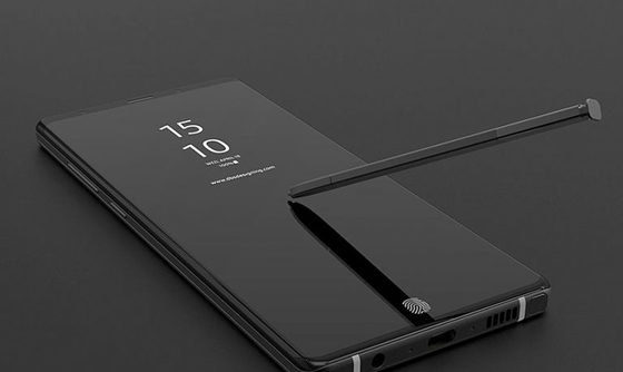 A concept render of the Galaxy Note 9. Image: The Inquirer. A concept render of the Galaxy Note 9. Image: The Inquirer.
