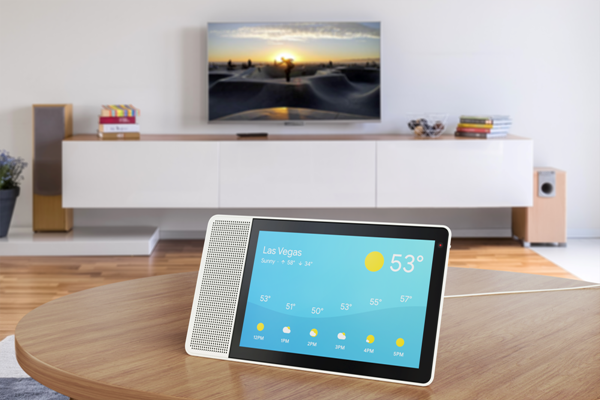 The new Lenovo smart screen comes with Google Assistant. Image : Lenovo