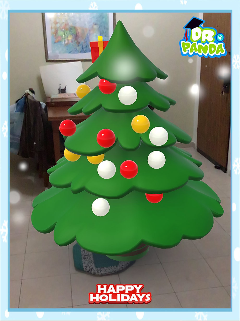 ar app christmas tree