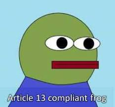 A recreation of the popular 'Pepe the Frog' meme, created by a 4Chan user. A recreation of the popular 'Pepe the Frog' meme, created by a 4Chan user.