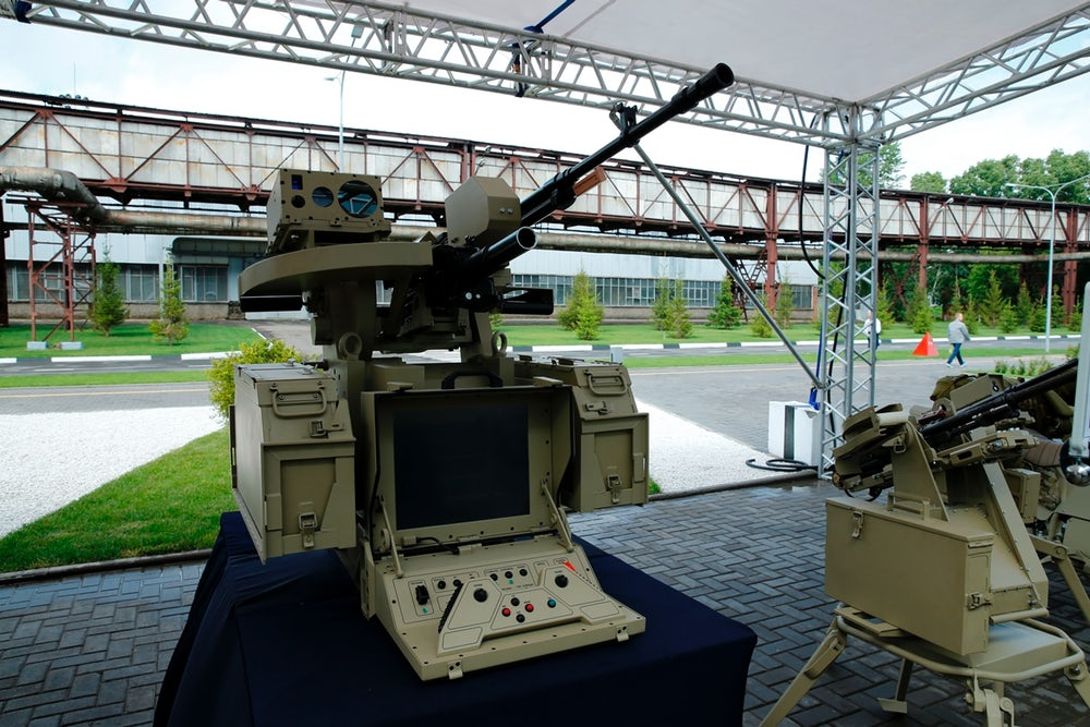 One of the weapons unveiled by the Kalashnikov Group. Image: Kalashnikov Group